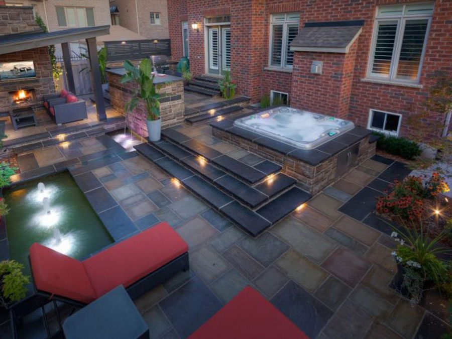 Five Stone Patio Designs